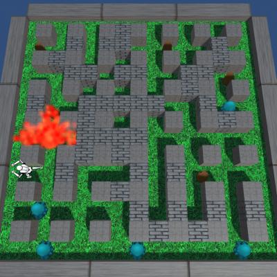 Bomberman 3D - portfolio